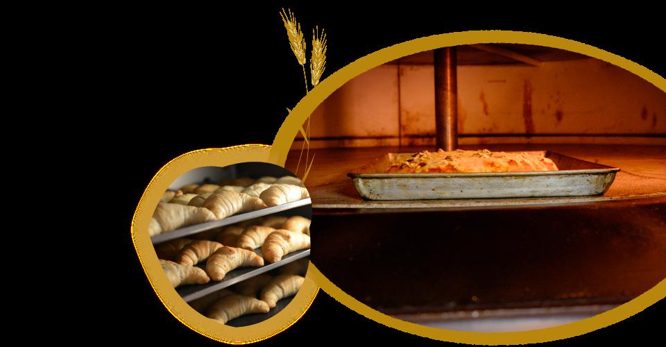 ふっくら美味しい石窯パン