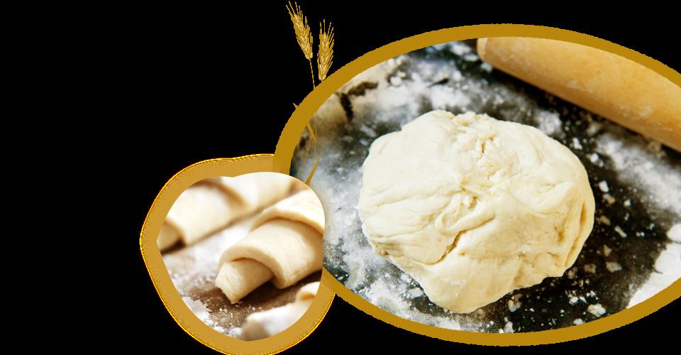 麦のひげ こだわりのパン生地